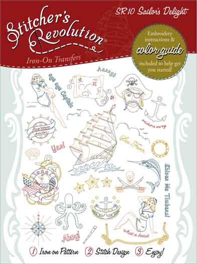 Stitchers Revolution Sailor Del