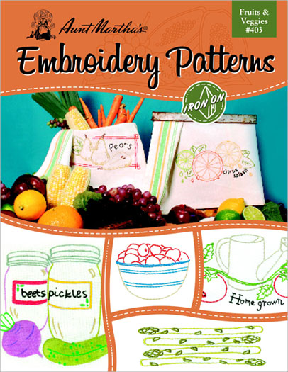 Embroidery Patterns Frts & Vege