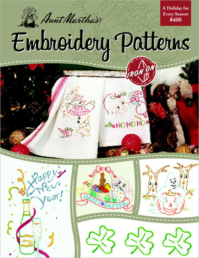 Embroidery Patterns Holiday #405 Book