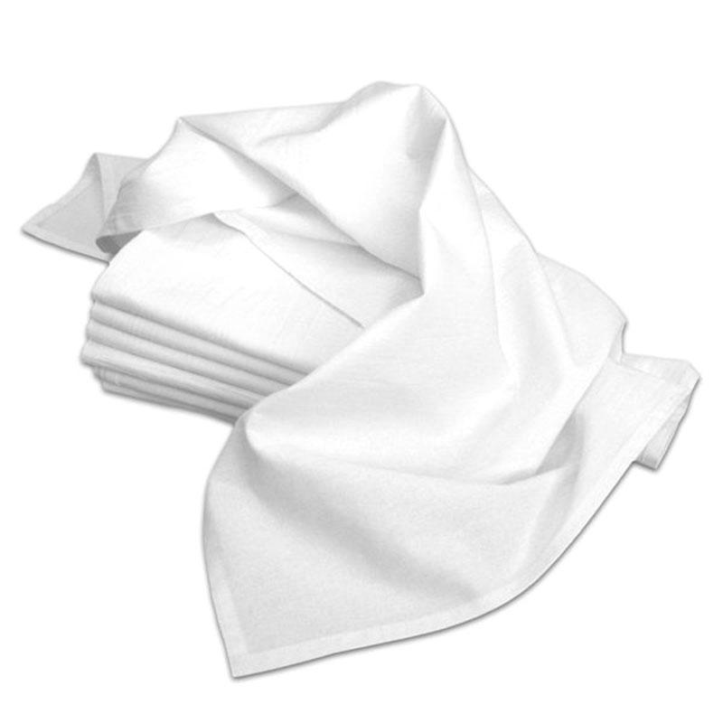 Flour Sack Dish Towel Off-White 33x38