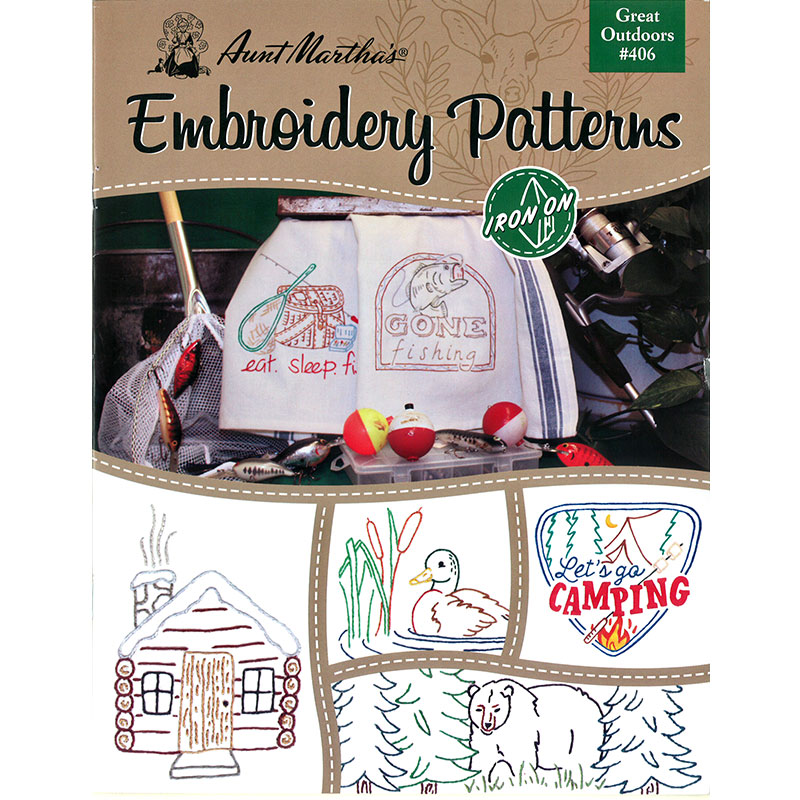 Embroidery Patterns Great Outdr