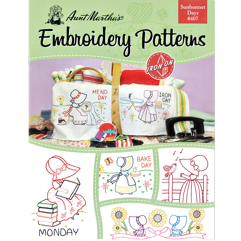 Embroidery Patterns Sunbonnet