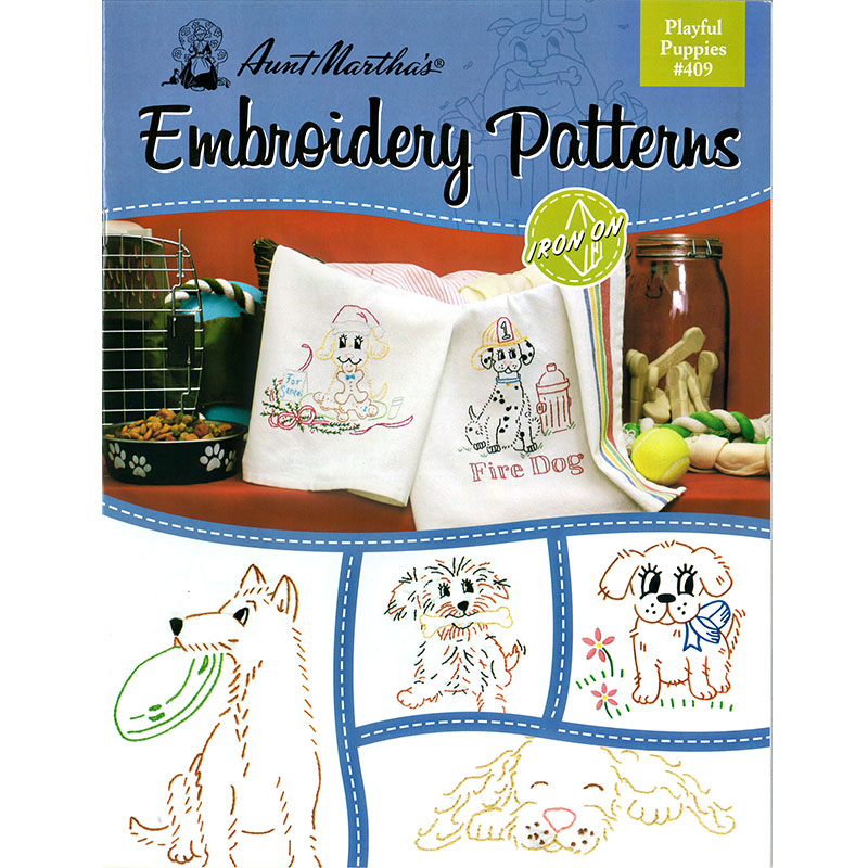 Embroidery Patterns Playfl Pups