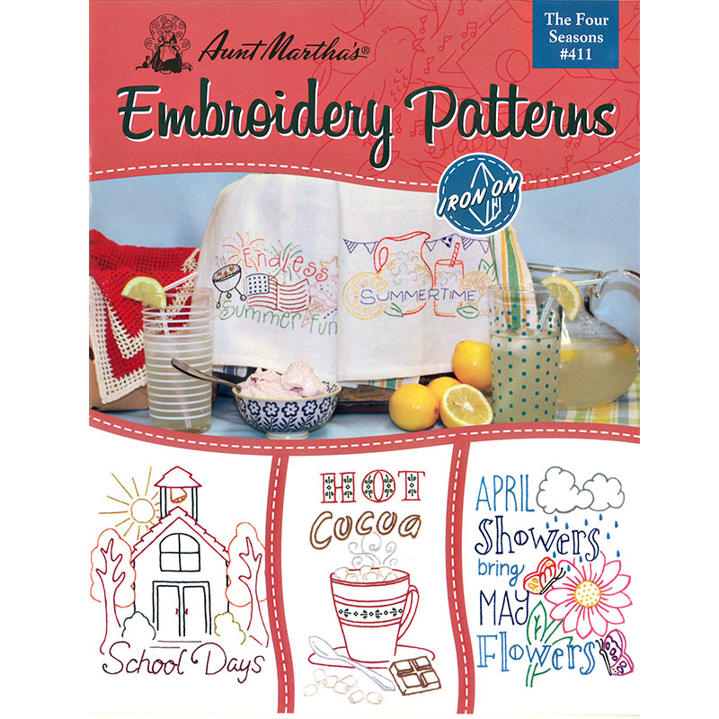 Embroidery Patterns Four Season