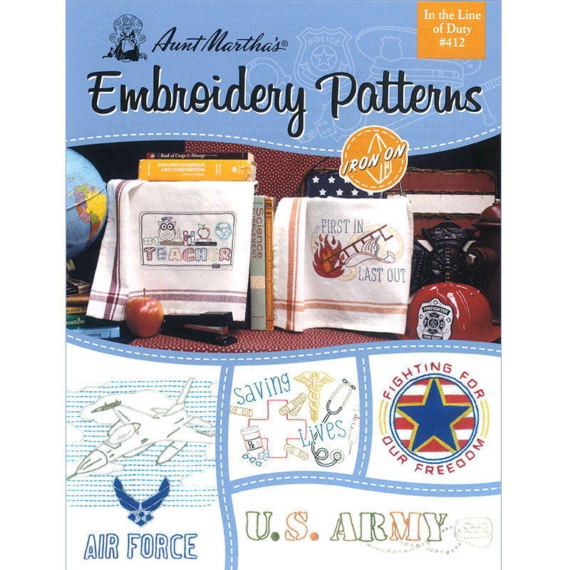 Embroidery Pattern Line Of Duty