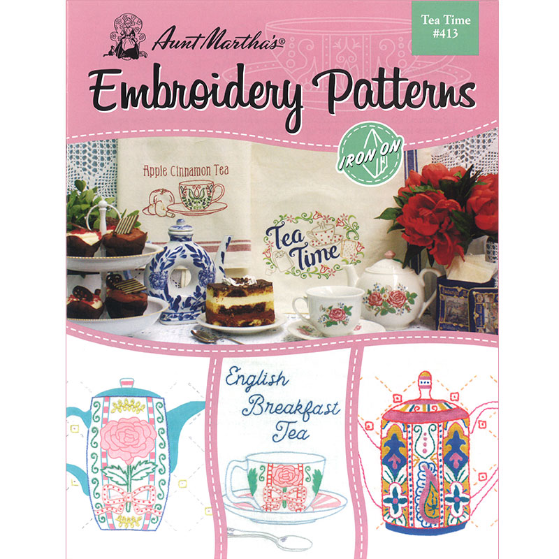 Embroidery Patterns Tea Time