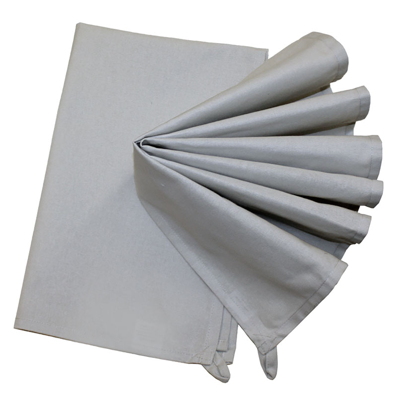 Kitchen Towel 2ct Gray