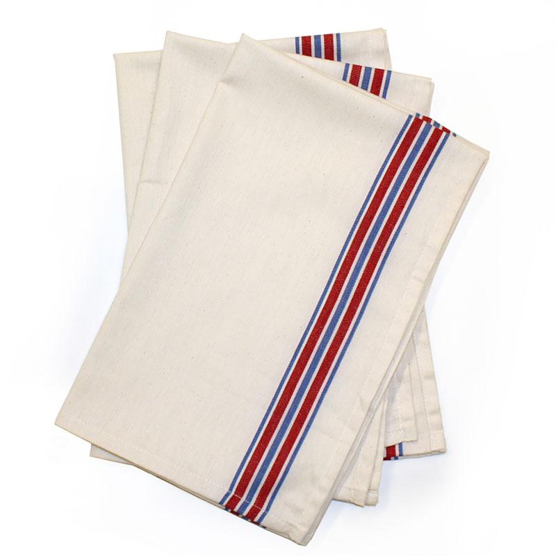Herringbone Stripe Towel 3ct - American