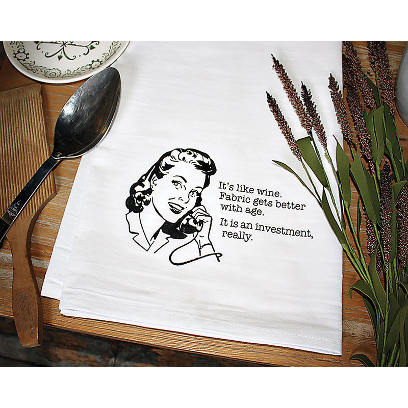 Aunt Martha's Dirty Laundry - Tea Towel - Moda SPT7