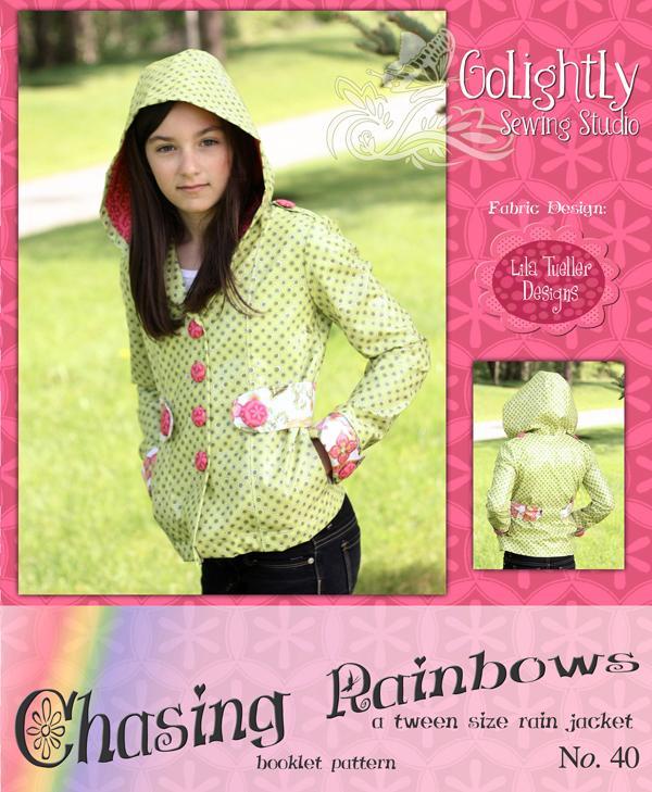 Chasing Rainbows Rain Jacket