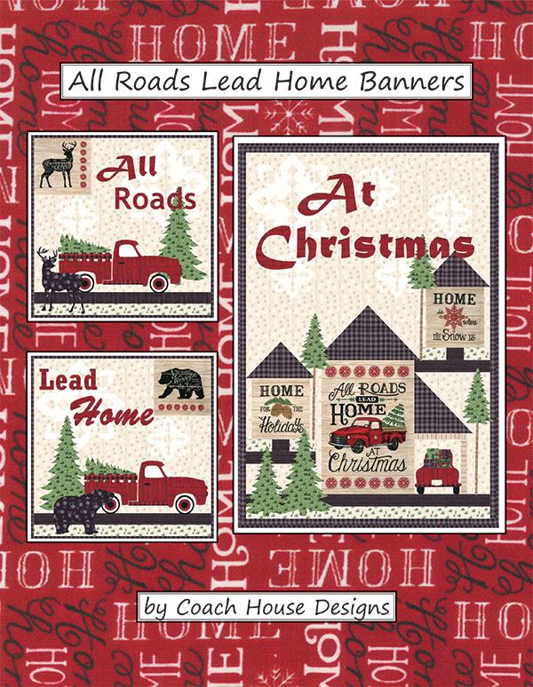 All Roads Lead Home Banners Pattern