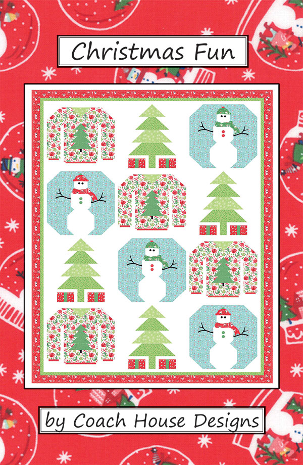 Christmas Fun Pattern by Coach House Designs