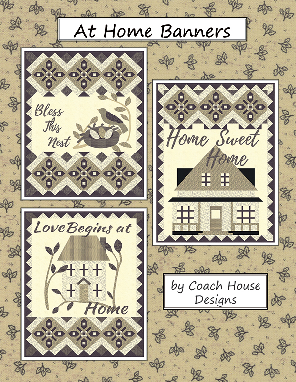 Coach House Designs At Home Banners Pattern