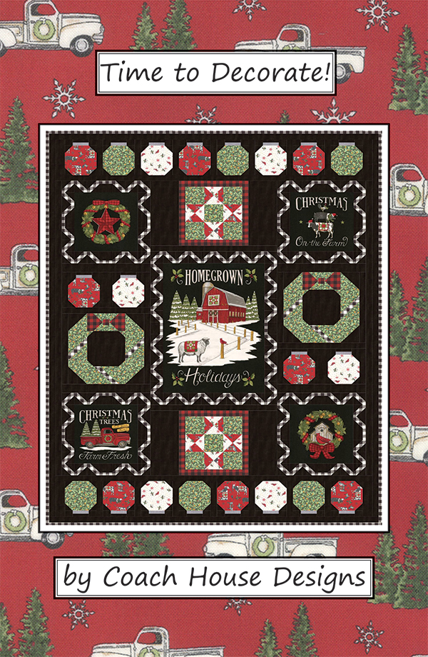 Time to Decorate Quilt Kit