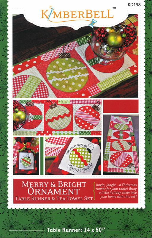 Merry & Bright Ornament Runner