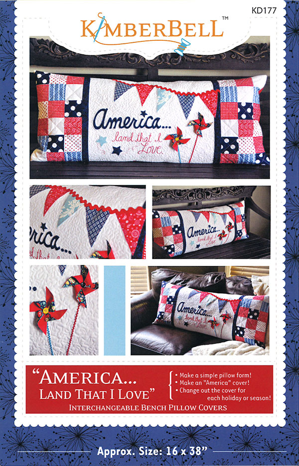 America Land That I Love Pillow