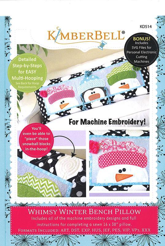 Whimsy Winter Bench Pil Emb CD