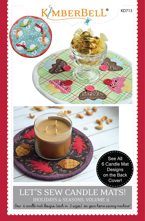 Lets Sew Candle Mats Vol 1
