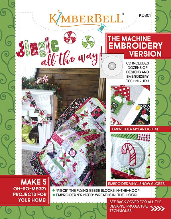 Jingle All The Way! Machine Emb