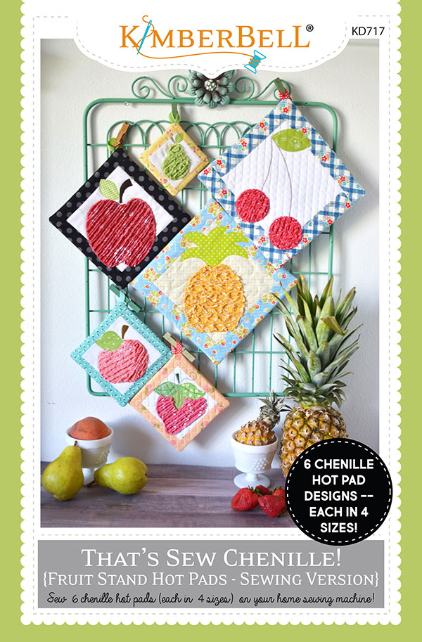 That's Sew Chenille - Fruit Stand Pot Holders