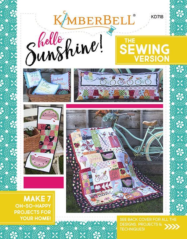 Kimberbell Hello Sunshine Sewing Version