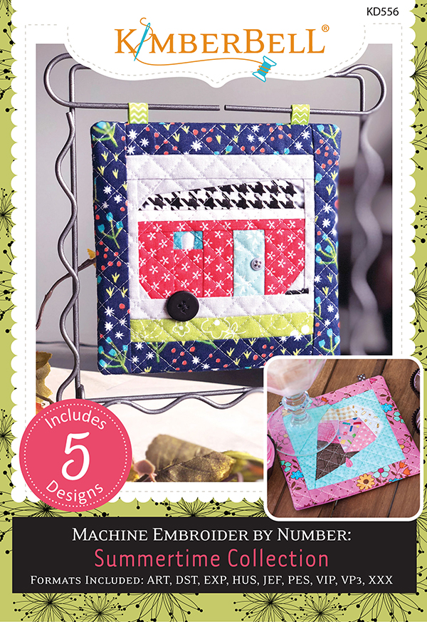 Embroider By Number: Summertime Collection