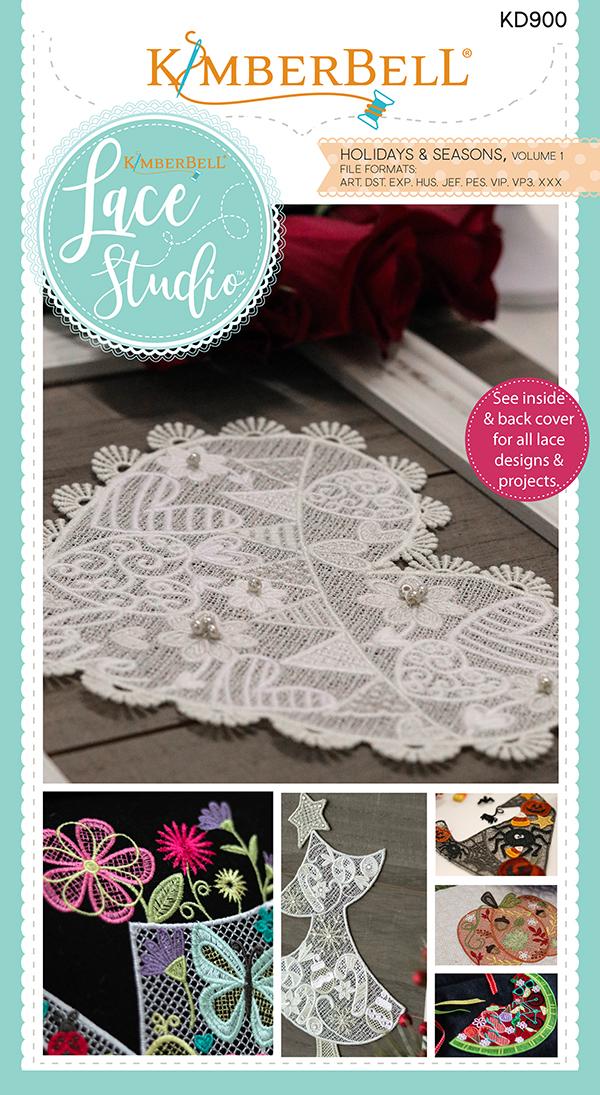 Kimberbell Lace Studio Vol1 Emb KD900
