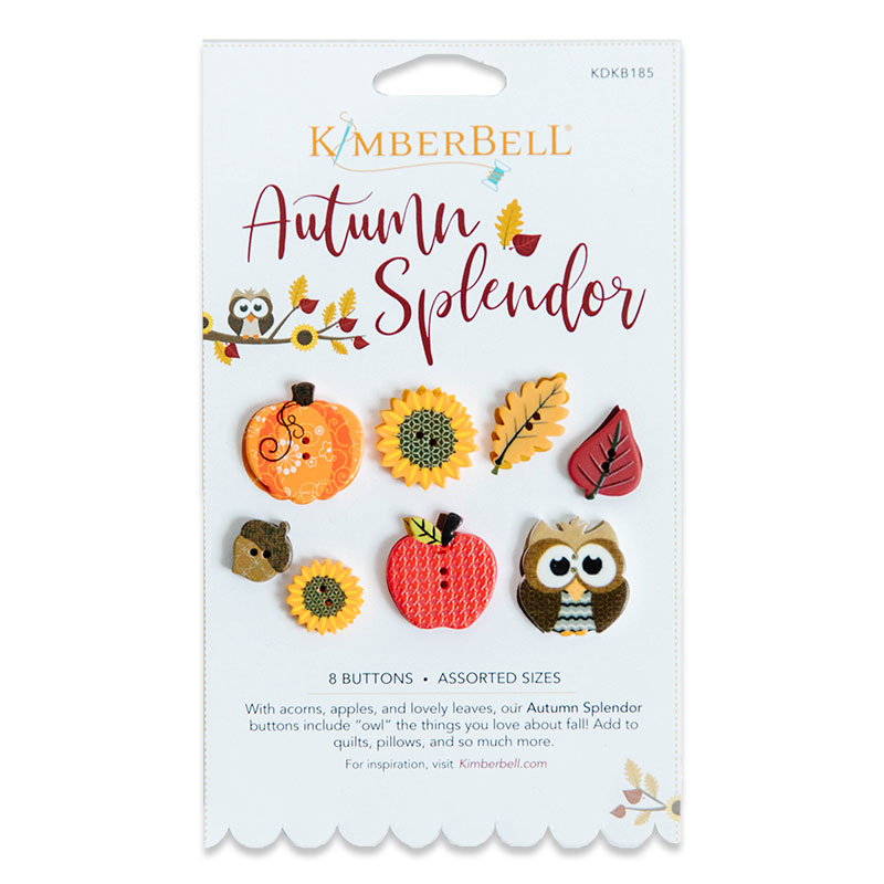 Button Set Autumn Splendor
