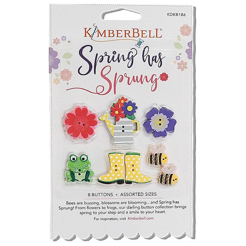 Button Set Spring Has Sprung
