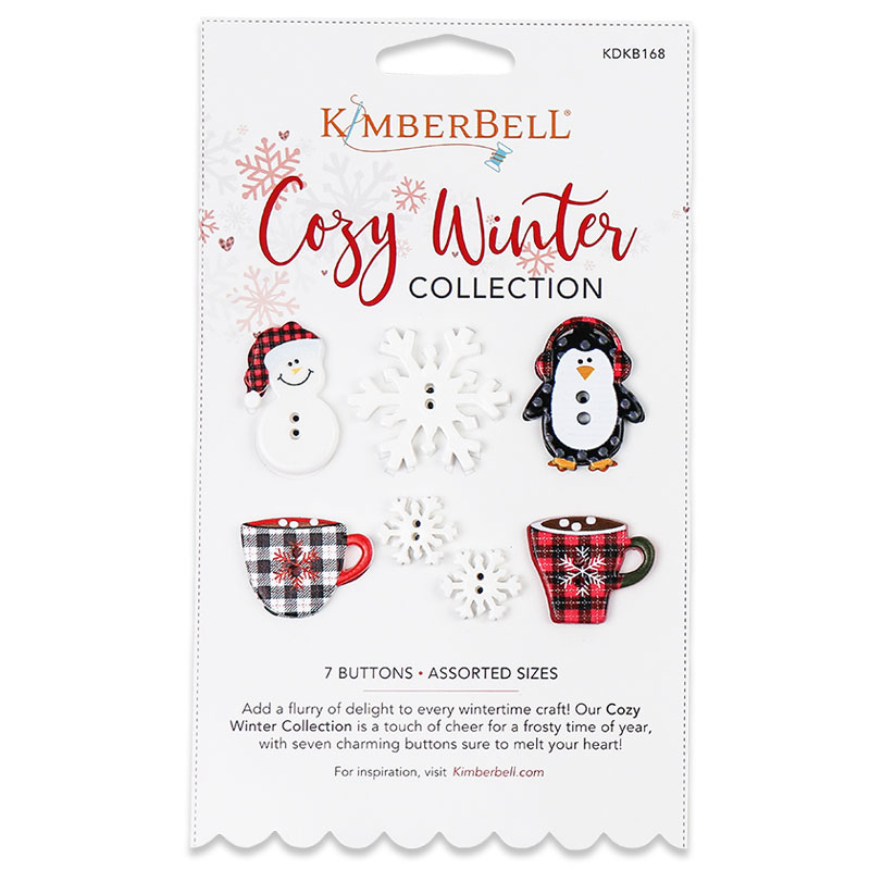 Kimberbell Cozy Winter Buttons