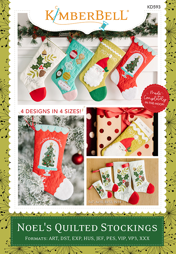 Kimberbell - Noel's Quilted Stocking