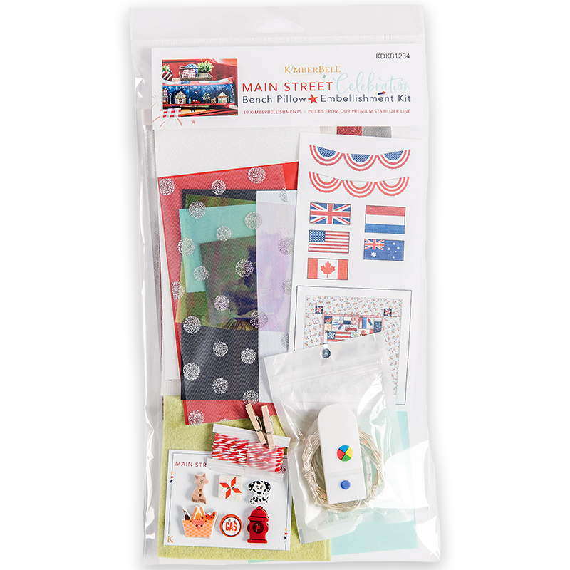 Main Street Embellishment kit by Kimberbell