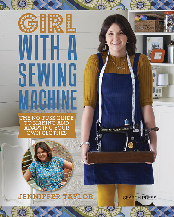Girl With A Sewing Machine SPR 4564