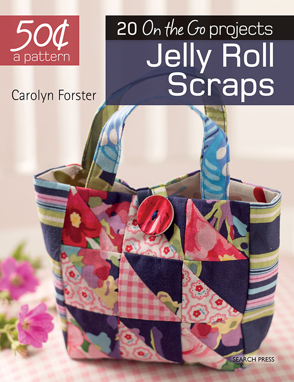 20 on the go projects/Jelly Roll Scraps