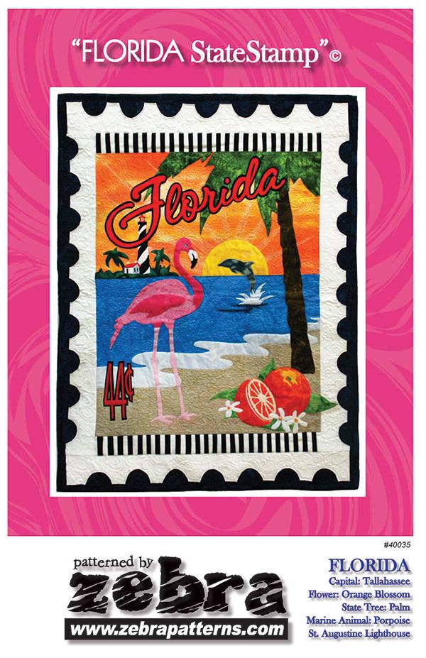Florida State Stamp Pattern