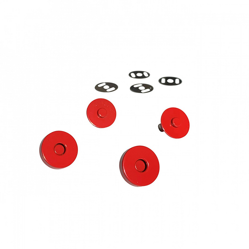 Magnetic Snaps Red 2ct