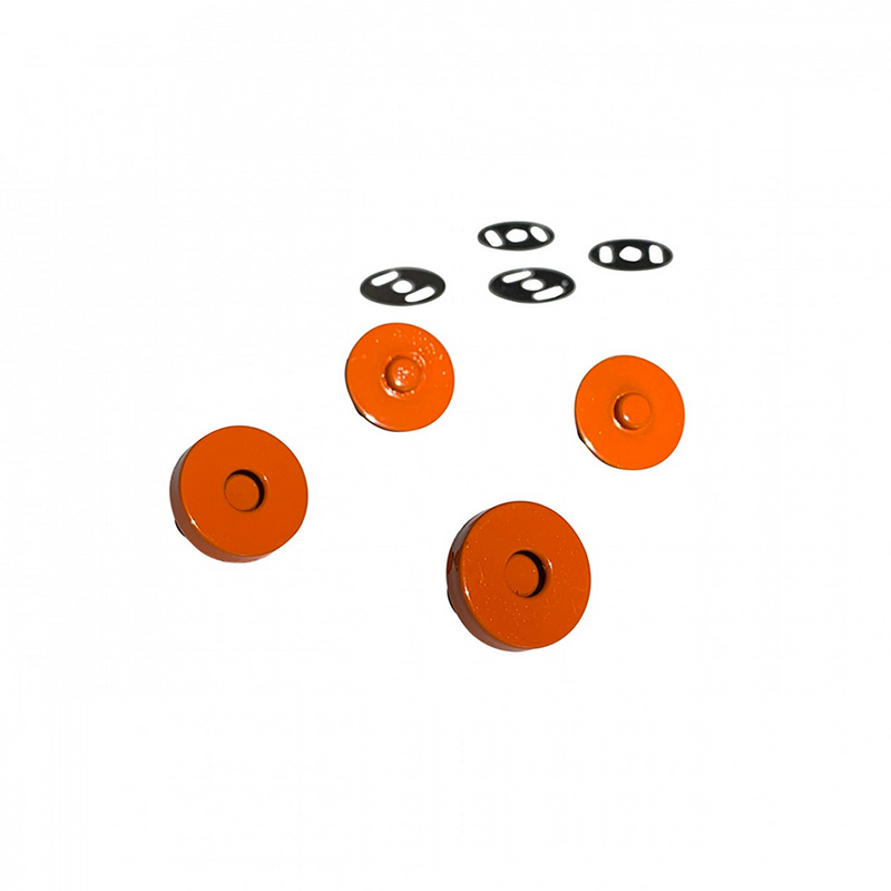 Magnetic Snaps Orange 2ct