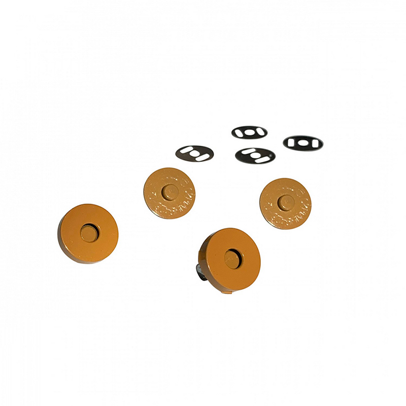 Magnetic Snaps Mustard 2ct