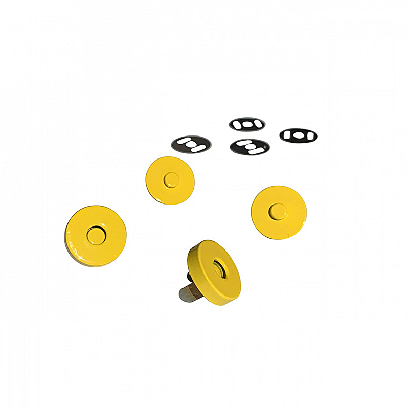 Magnetic Snaps Yellow 2ct