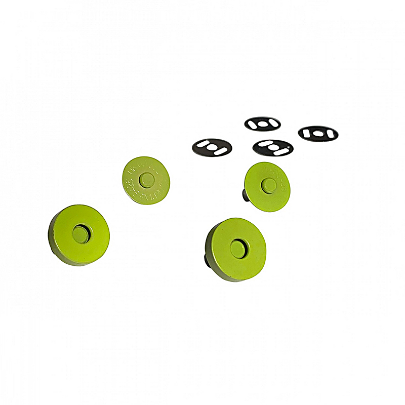 Magnetic Snaps Lime 2ct