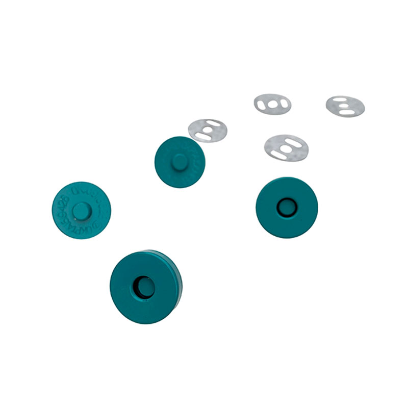 Teal Magnetic Snaps Set of 2