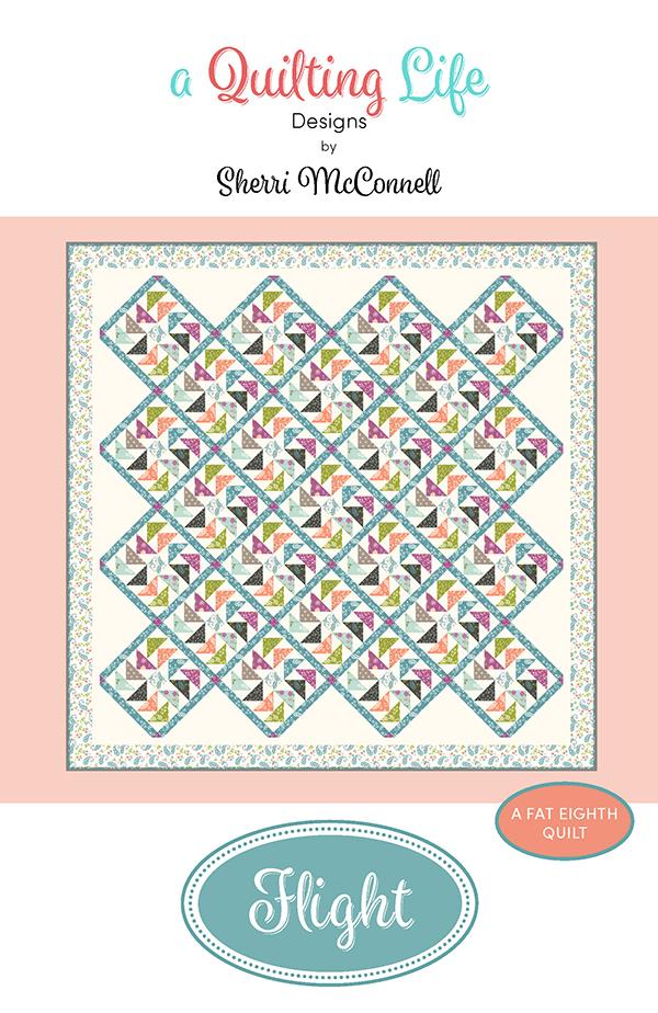 Flight quilt pattern