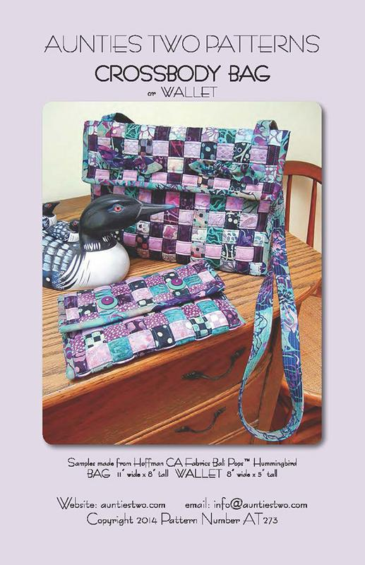 Crossbody Bag Or Wallet-Aunties Two Patterns - AT 273