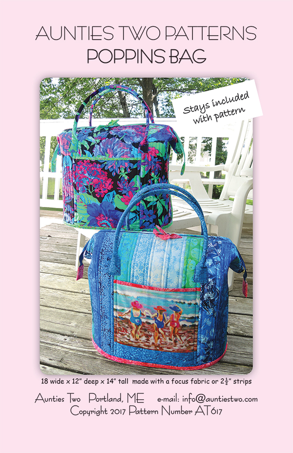 Poppins Bag Pattern and Frame