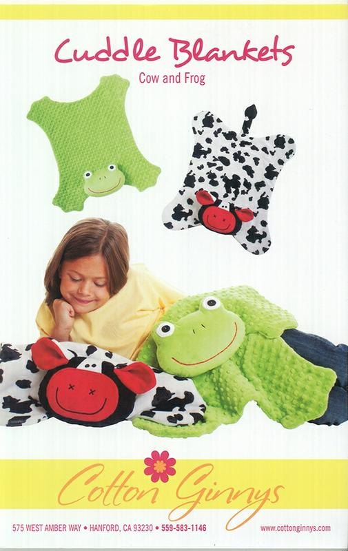 Cuddle Blankets/Cow Frog