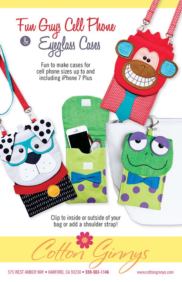 Fun Guys Cell Phone & Eyeglass