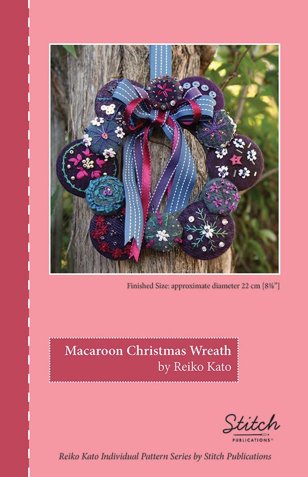 Macaroon Christmas Wreath