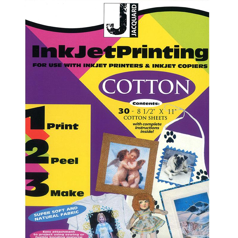 Inkjet Cotton Sheet 8.5x11 sheet