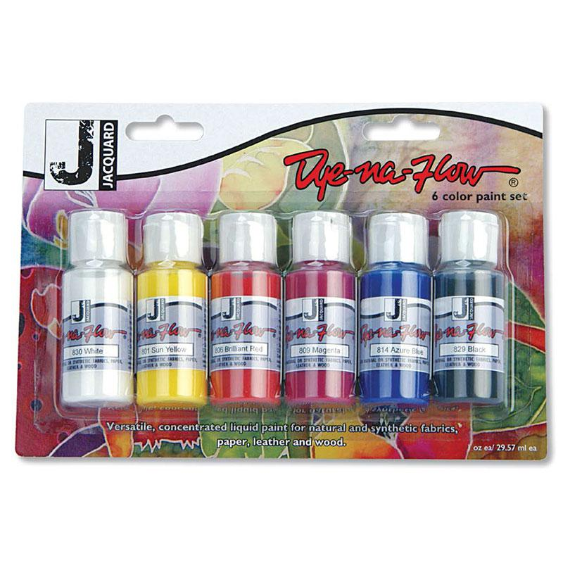 Dye Na Flow 6 Color Set 1oz