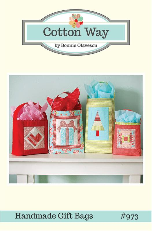 Handmade Gift Bags by Cotton Way